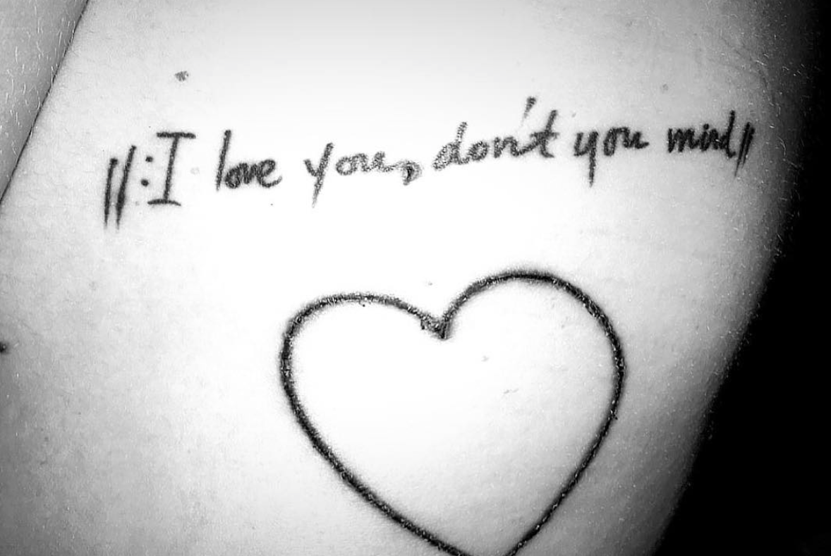 I Love You, Don't You Mind…