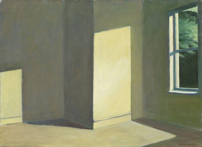 The Empty Light Green Room